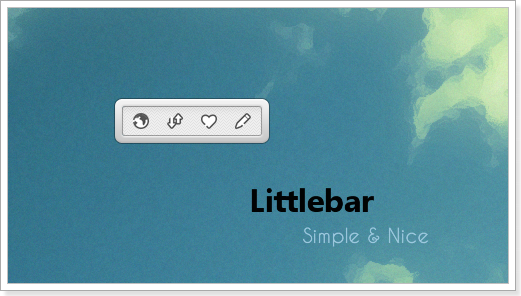 Littlebar Widget for Windows PC