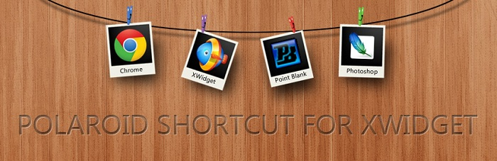 Polaroid Shortcut Widget