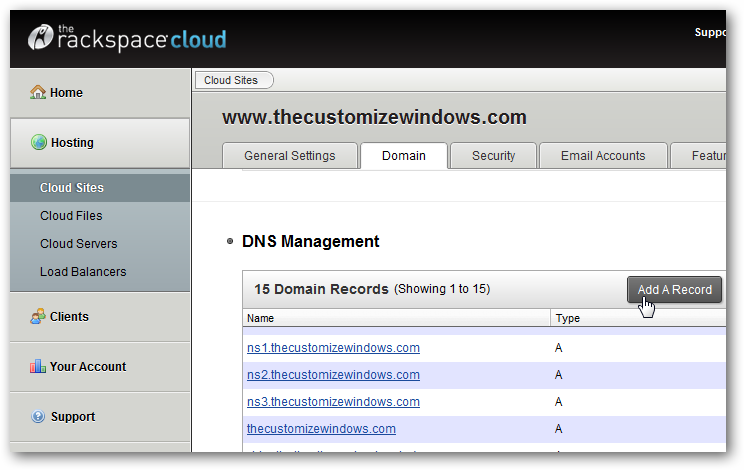 Setup own URL Shortening Service for Websites on Rackspace Cloud