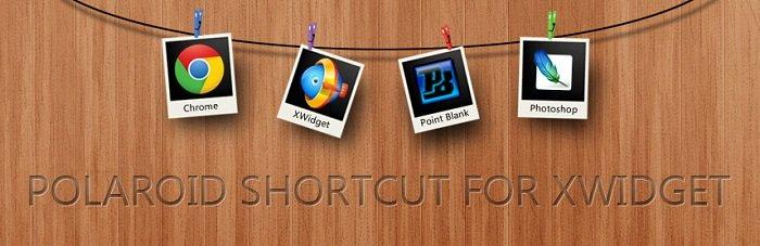 Polaroid Shortcut Widget