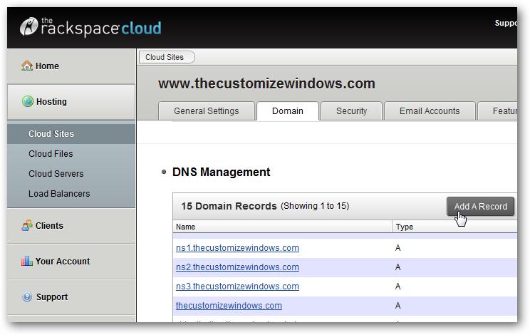 Setup own URL Shortening Service for Websites on Rackspace Cloud
