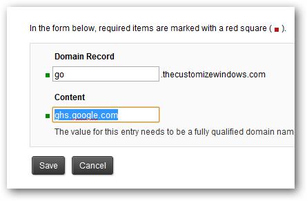 Setup own URL Shortening Service