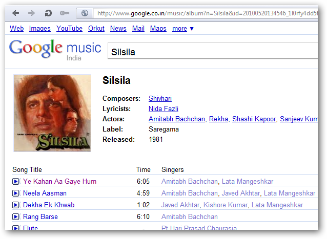 Free Legal MP3 Google Music India