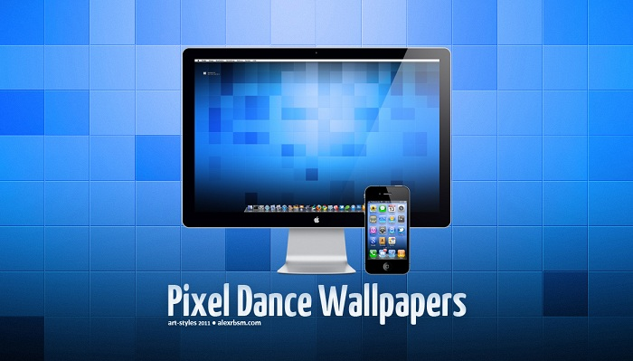 Pixel Dance Wallpaper Set