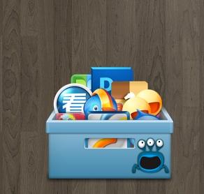 Shortcut Icon Box Widget