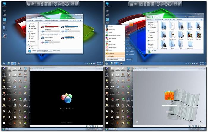 Windows 7 Theme Crystal