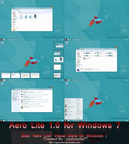 Windows 7 Theme Aero Lite