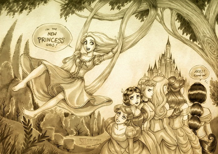 Disney's Princesses Wallpaper