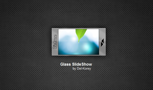 Glass Slide Show Widget
