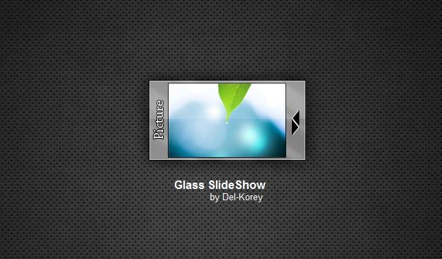 Glass Slide Show Widget