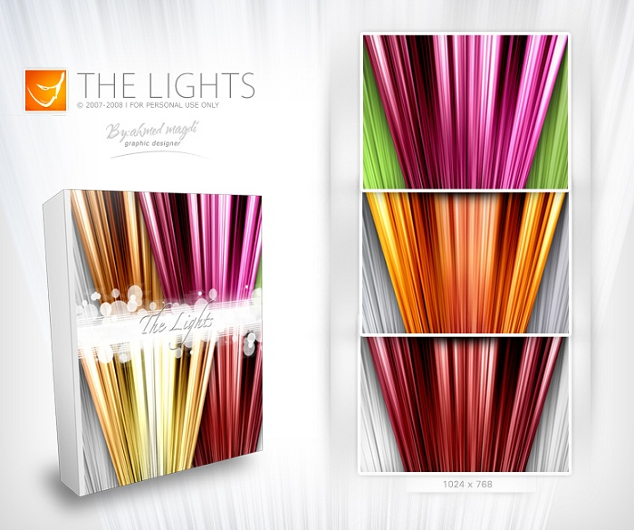 Lights wallpaper package