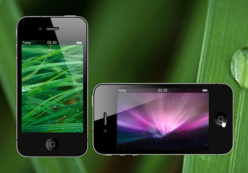 iPhone Photo Album Widget
