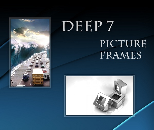 Glass Border Picture Frame Gadget