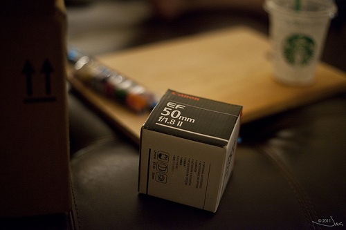 Canon EF 50mm f1.8 II Sample