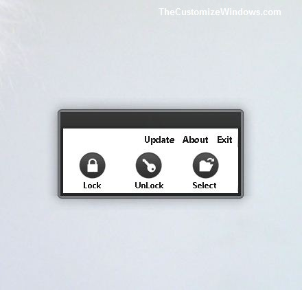 Folder Locker For Windows App