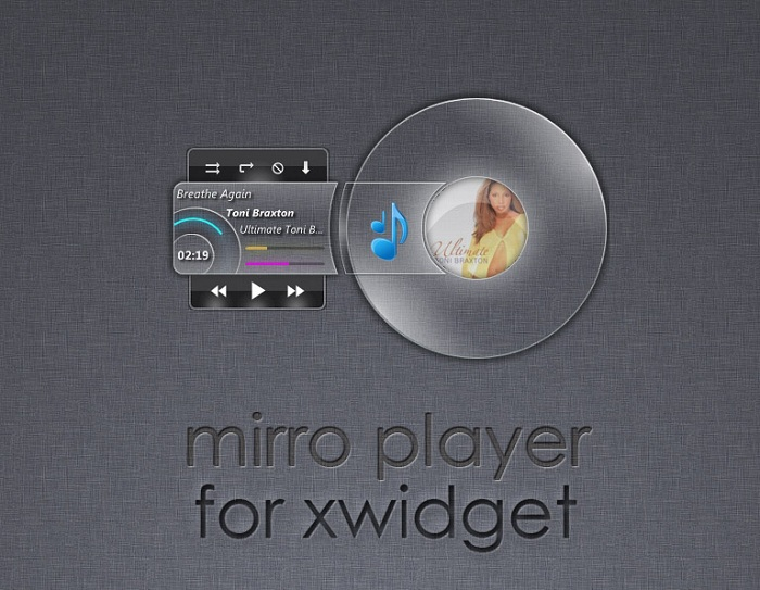 Mirro Player for XWidget