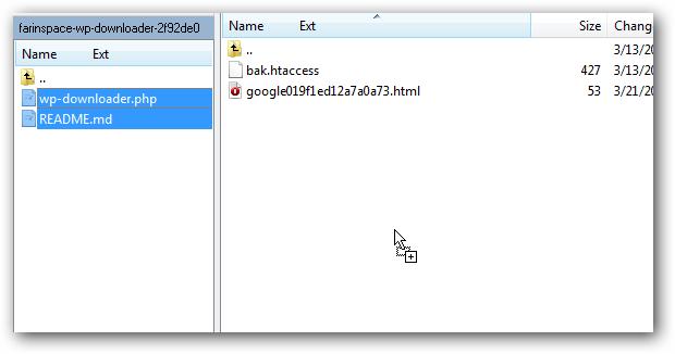 Automate Uploading and Uzipping WordPress on Rackspace Cloud Sites
