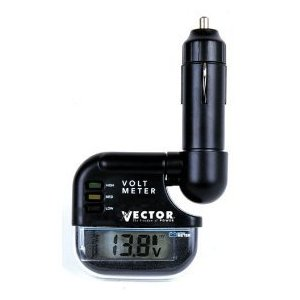 Car Cigarette Lighter digital voltmeter