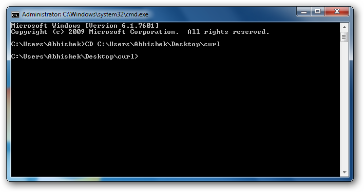 Installing cURL in Windows to Run cURL Commands Natively