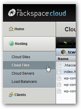 Serving Full HTML Website From Rackspace Cloud Files CDN