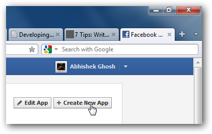 Creating a Facebook App of Your Own
