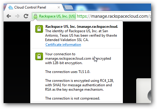 Extended Validation SSL Certificate