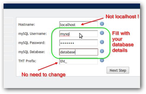 Installing TheHostingTool Control Panel on Rackspace Cloud Sites