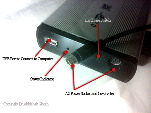 Setting Up Disk Enclosure or Casings with Internal SATA HDD
