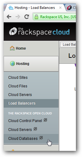 Using Rackspace Database as a Service to Boost WordPress