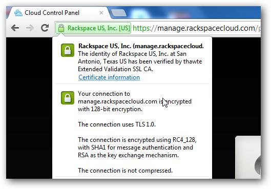 Extended Validation SSL Certificate