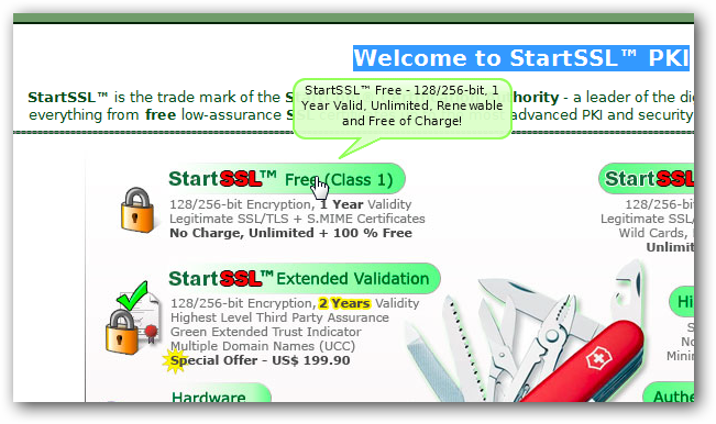 Installing Free SSL Certificate for Rackspace Cloud Server