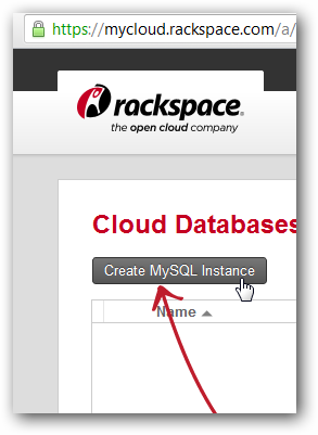 Rackspace Cloud Database