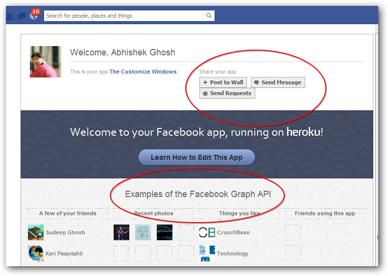 Way for creating a wordpress based facebook app with facebook login
