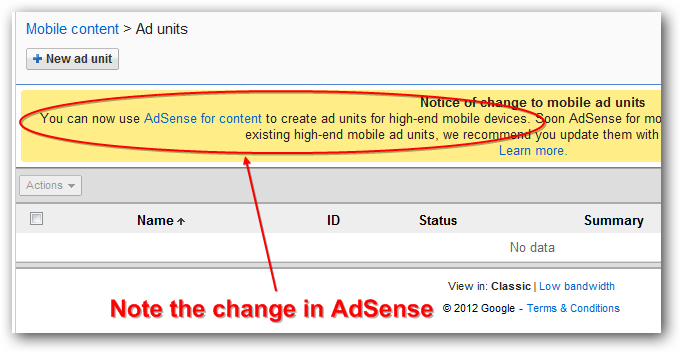 Google AdSense Ads and Responsive Website Design