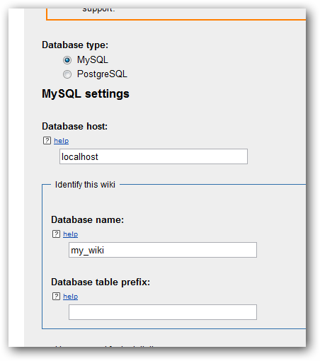 Installing MediaWiki on Rackspace Cloud Database