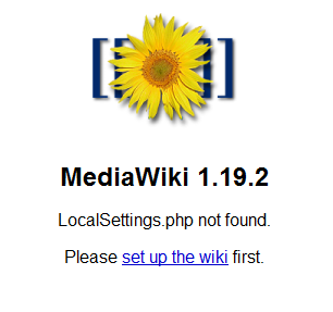 Installing MediaWiki on Rackspace