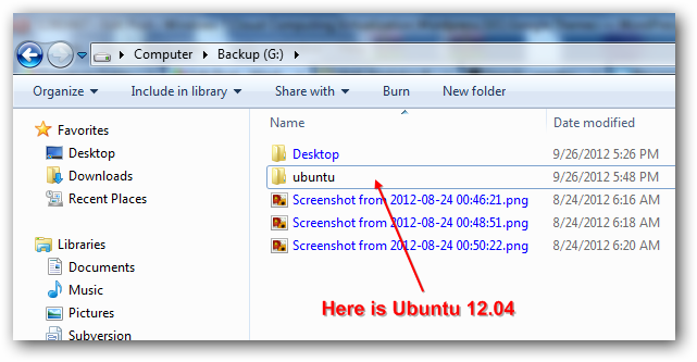 Ubuntu on Windows 7
