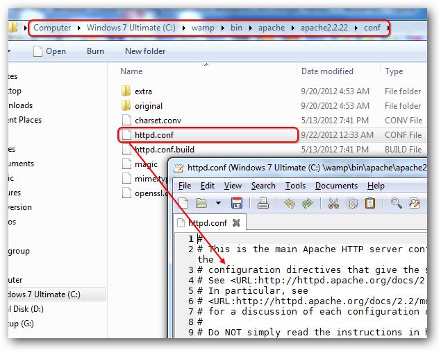 Enabling Apache mod_rewrite, Curl, SQLite on WAMP Server