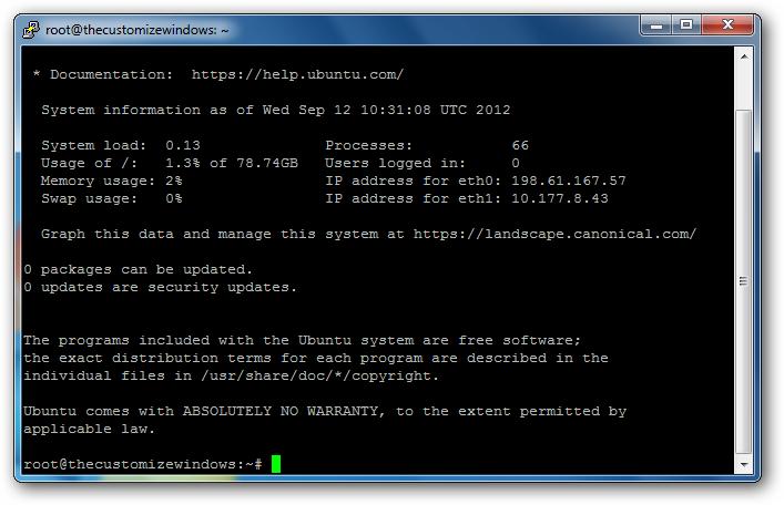 Installing Node.js on Rackspace Cloud Server