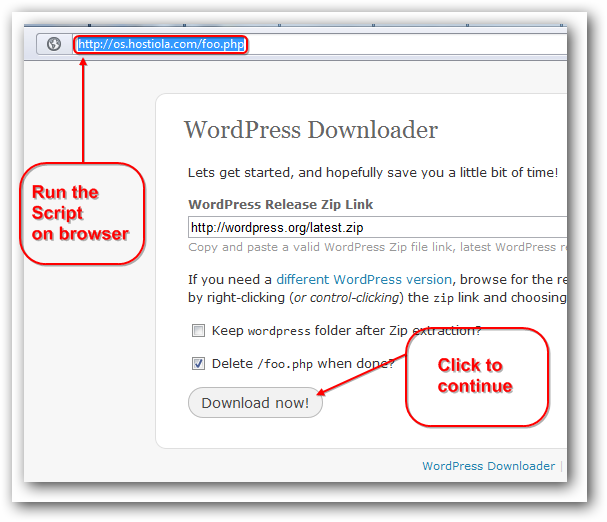 Installing WordPress on Rackspace Cloud Sites from Command Line Interface