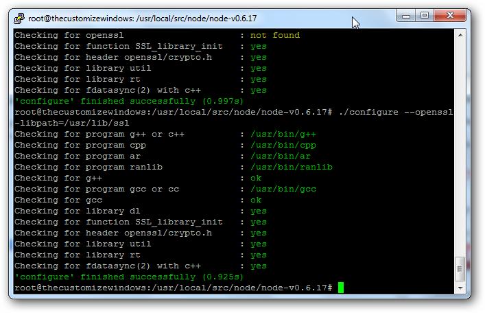 configure ubuntu