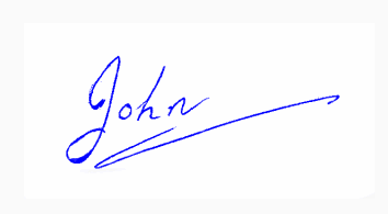 Animated Signature
