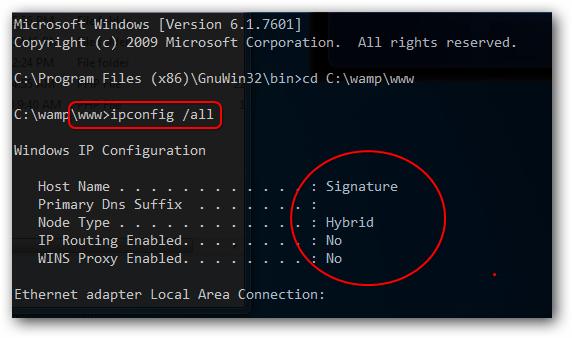 Configuring Windows 7 as Web Server