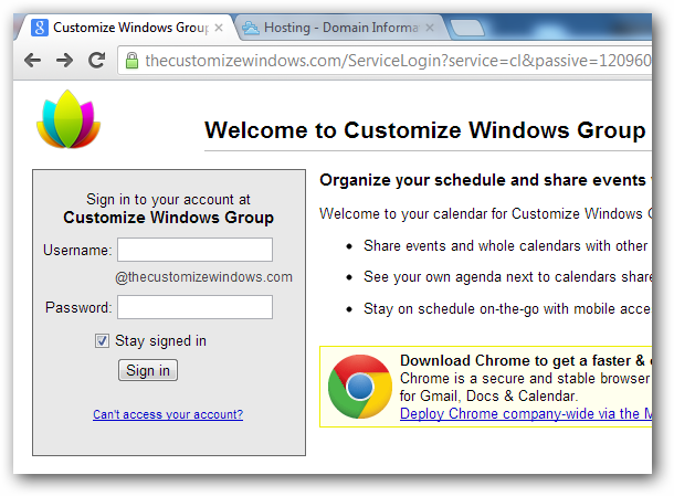 Subdomain URL and SSL for Google Apps