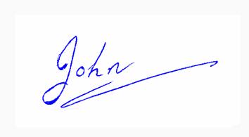 Animated Signature