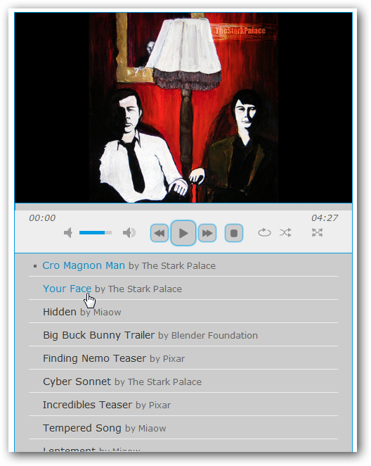Cloud Files Hosted Music Player of Your Own