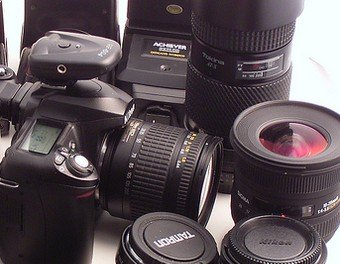 DSLR Camera and Needed Accessories