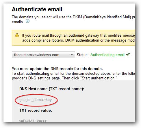DomainKeys Identified Mail