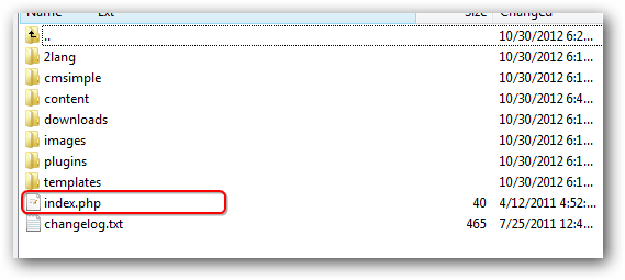 Installing a Very Light CMS on Rackspace Cloud Sites