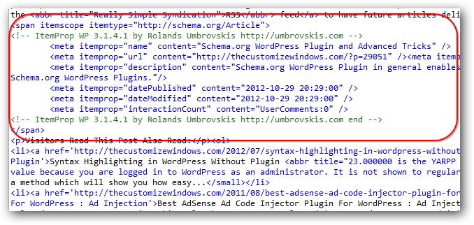 Schema.org WordPress Plugin and Advanced Tricks